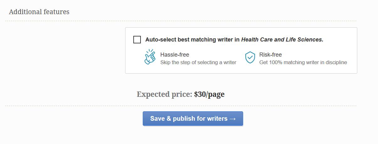 essayshark price